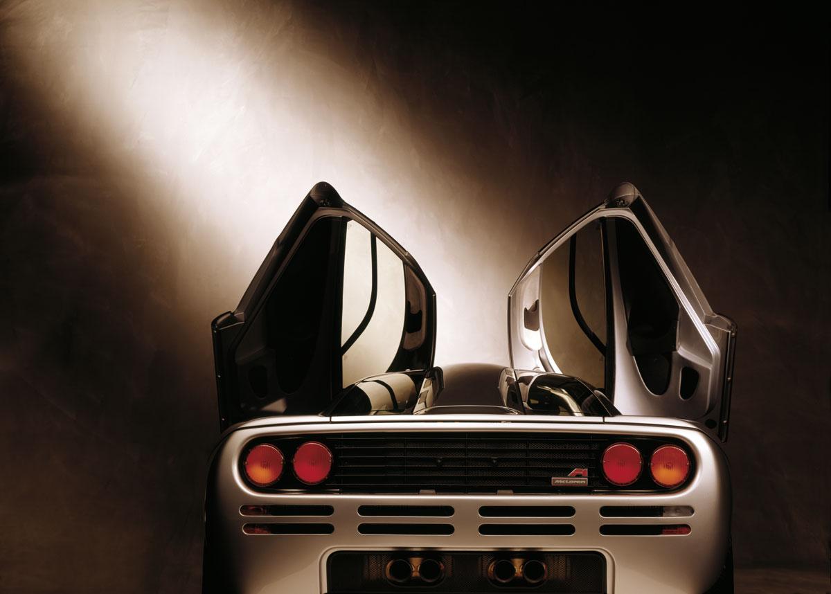 McLaren F1 1992 Photo Ren Staud