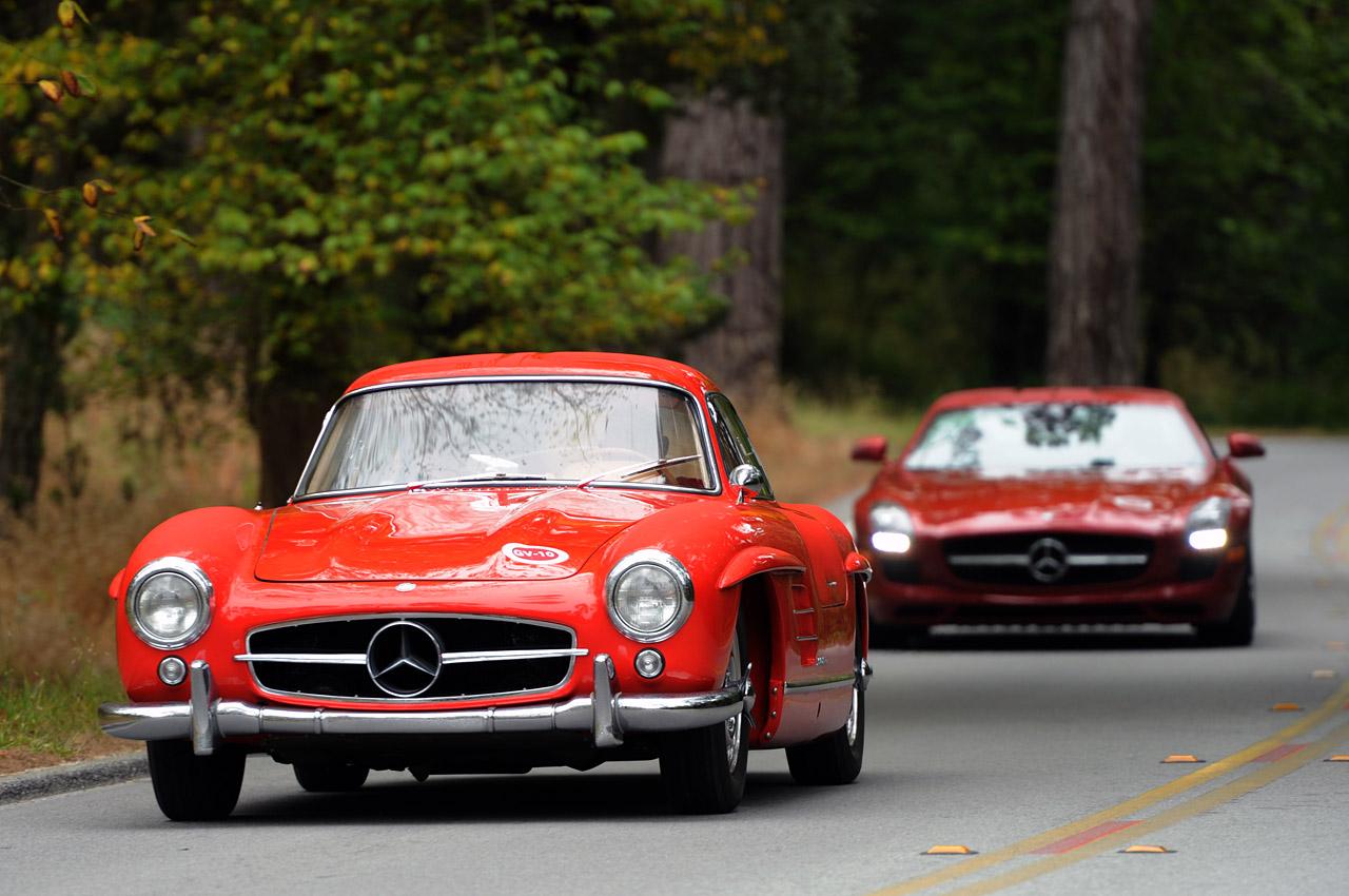 1954 mercedes benz 300 sl gullwing coupe meilensteine for Mercedes benz amg gullwing