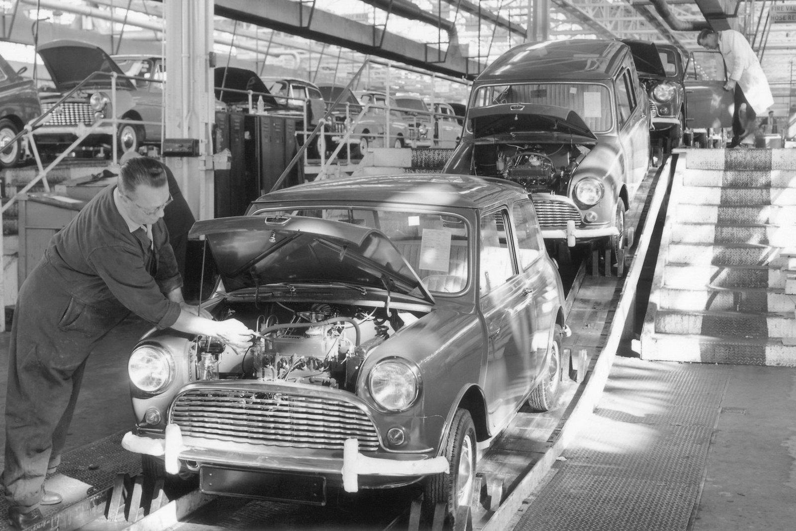 1959 Austin Mini Milestones