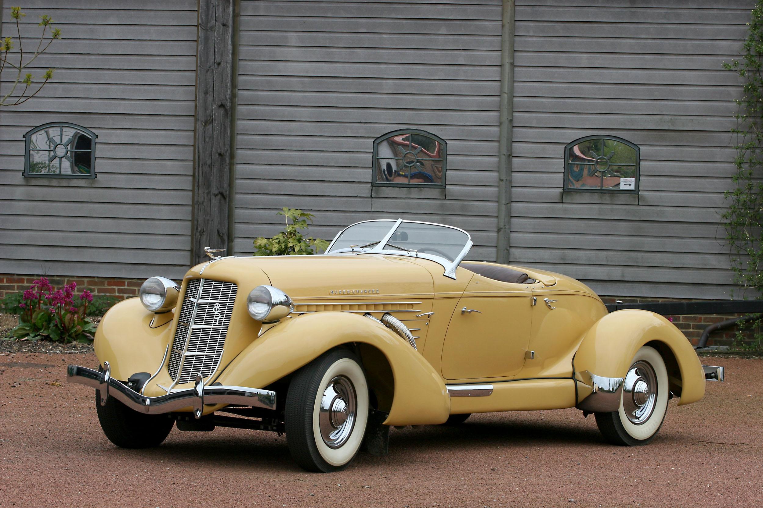 Auburn 851 Speedster, 1934