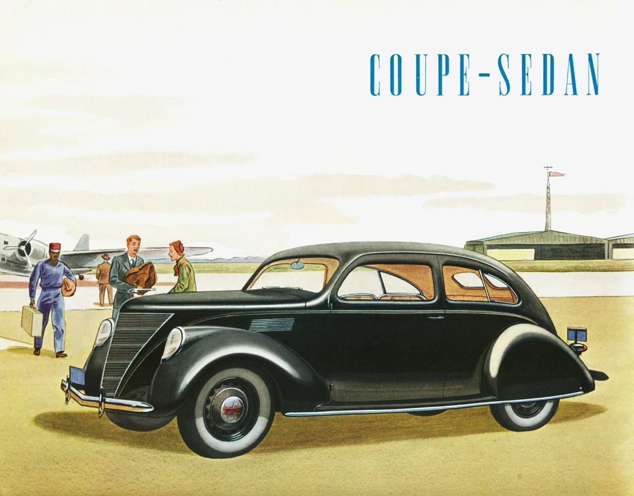 Lincoln zephyr coupe sedan 1937