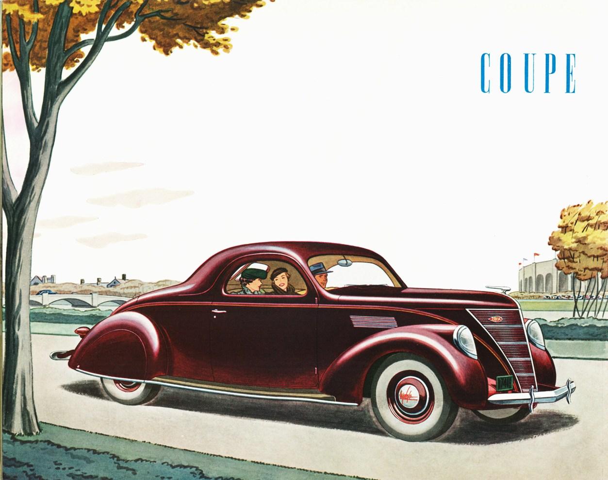 1936 Lincoln Zephyr Milestones