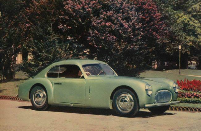 Cisitalia 202 Gran Sport (Pininfarina), 1947