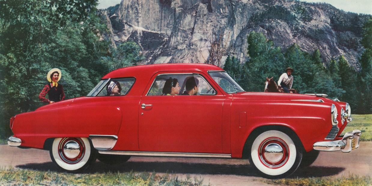 1950 studebaker commander milestones