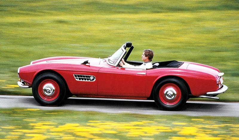 1955 BMW 507 - Milestones