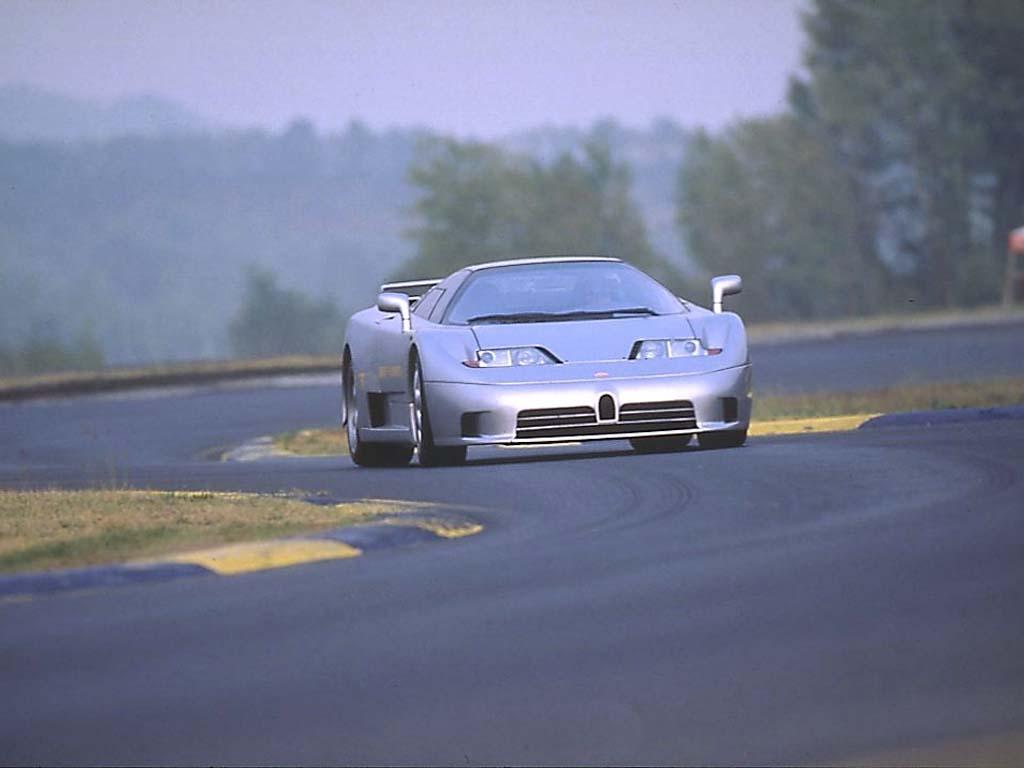 Bugatti EB 110, 1991