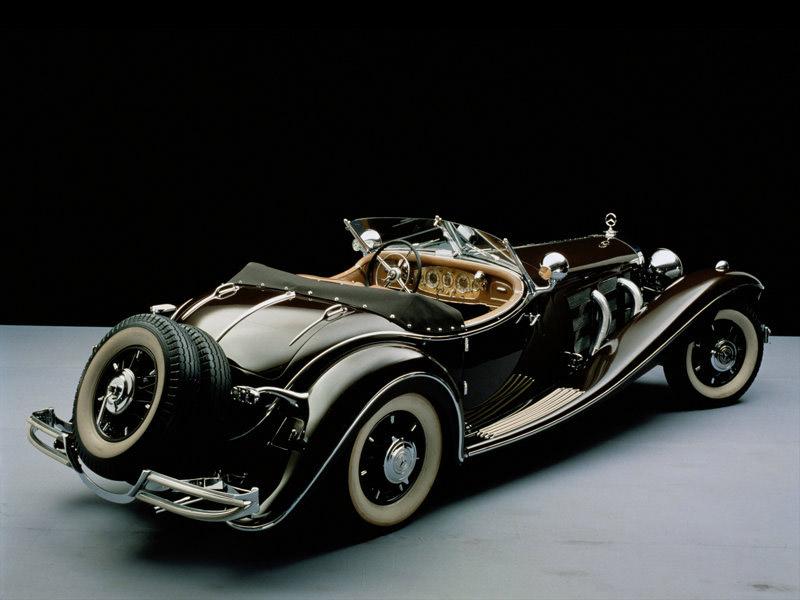 1934 mercedes benz 500k milestones for Mercedes benz classic cars