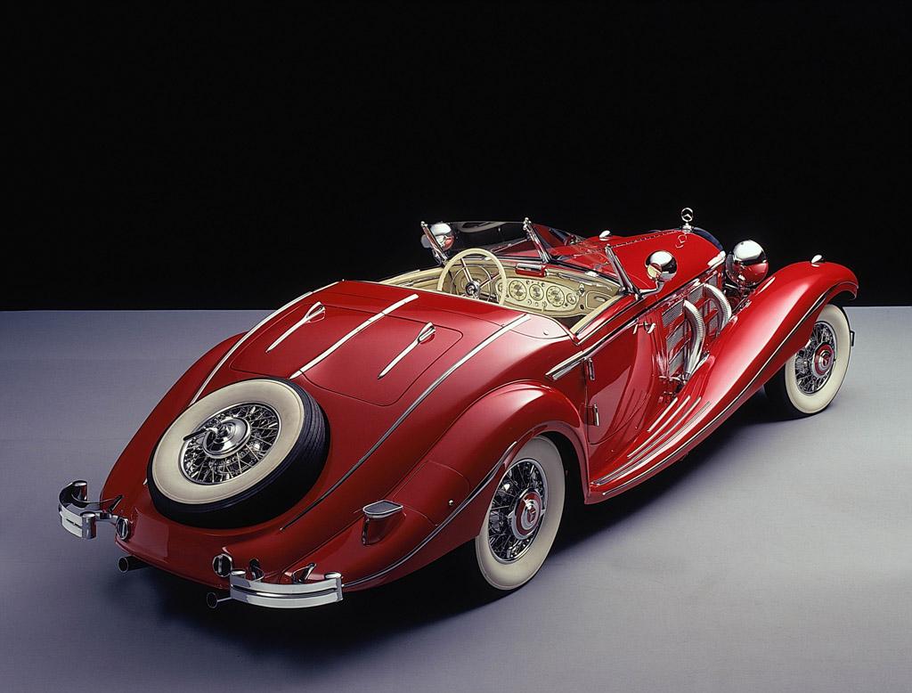 1935 mercedes benz 500k antique car magazine. Black Bedroom Furniture Sets. Home Design Ideas