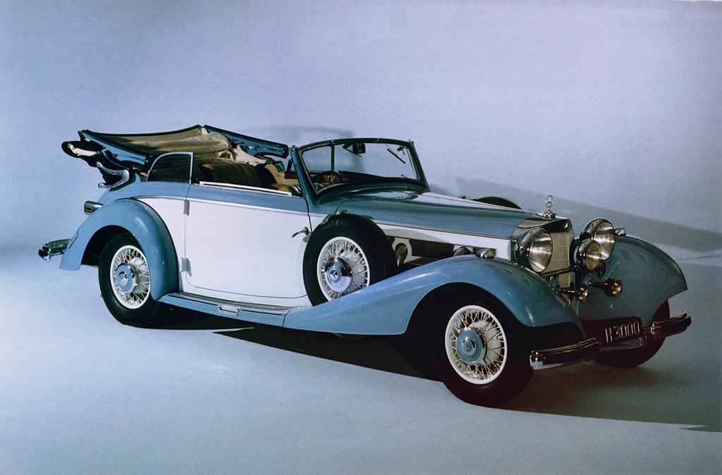 1936 Mercedes Benz 540k Milestones