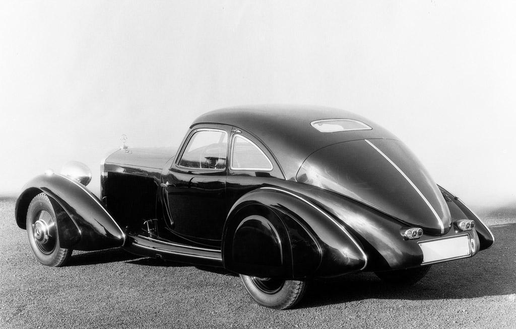 1936 mercedes benz 540k milestones for Mercedes benz autobahn
