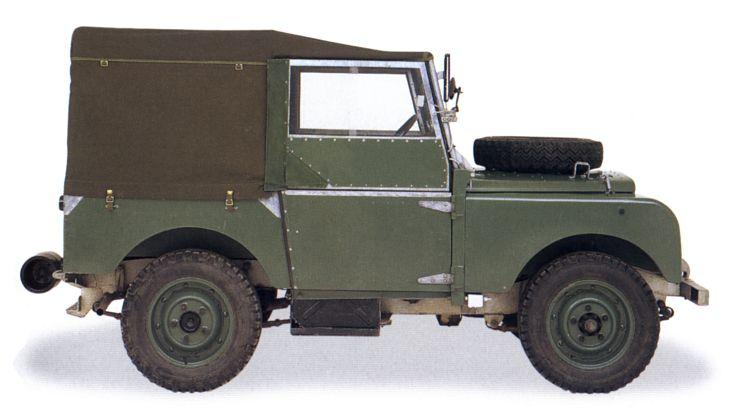 1949 Land Rover Series I - Milestones