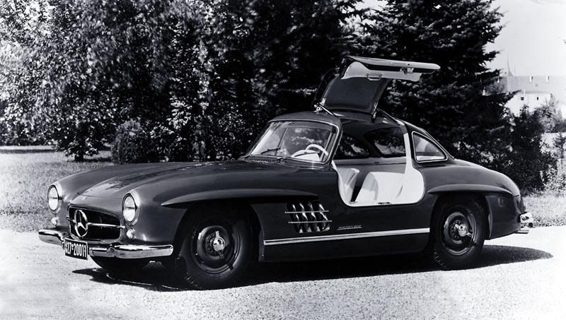 1954 mercedes benz 300 sl gullwing coupe milestones. Black Bedroom Furniture Sets. Home Design Ideas