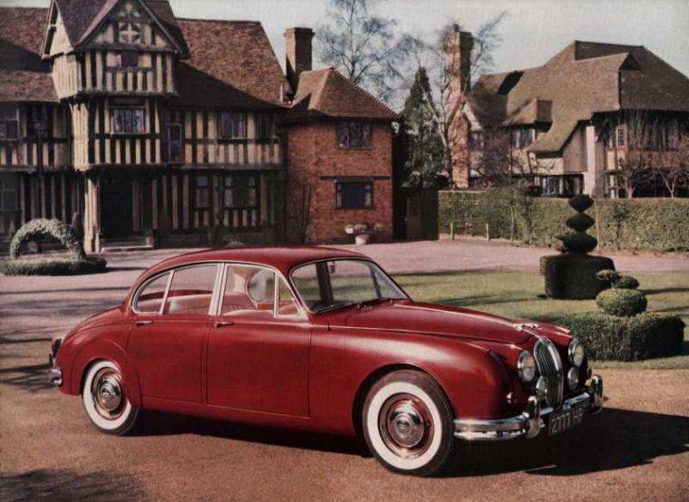 1959 Jaguar Mk2 (Mark 2, 240, 340) - Вехи