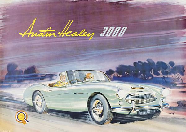 1959 Austin Healey 3000 - Milestones