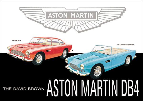 1959 aston martin db4 / db5 / db6 - milestones