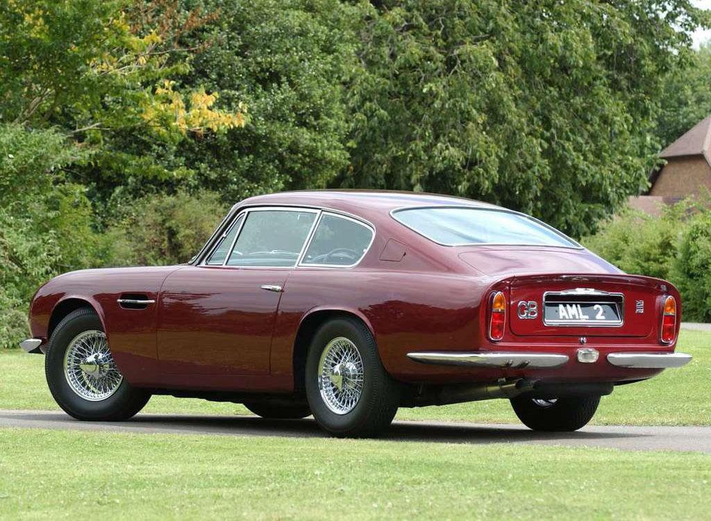 1959 Aston Martin Db4 Db5 Db6 Milestones