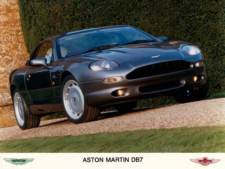 1994 Aston Martin Db7 Milestones