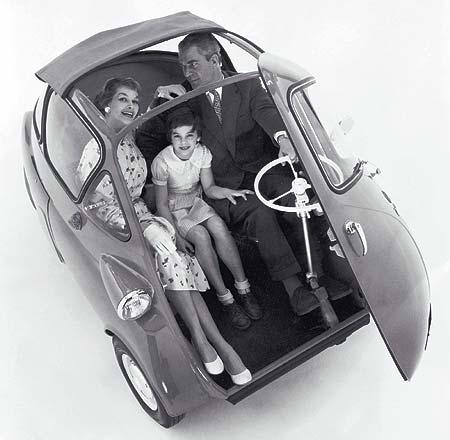 1956 BMW Isetta - Milestones