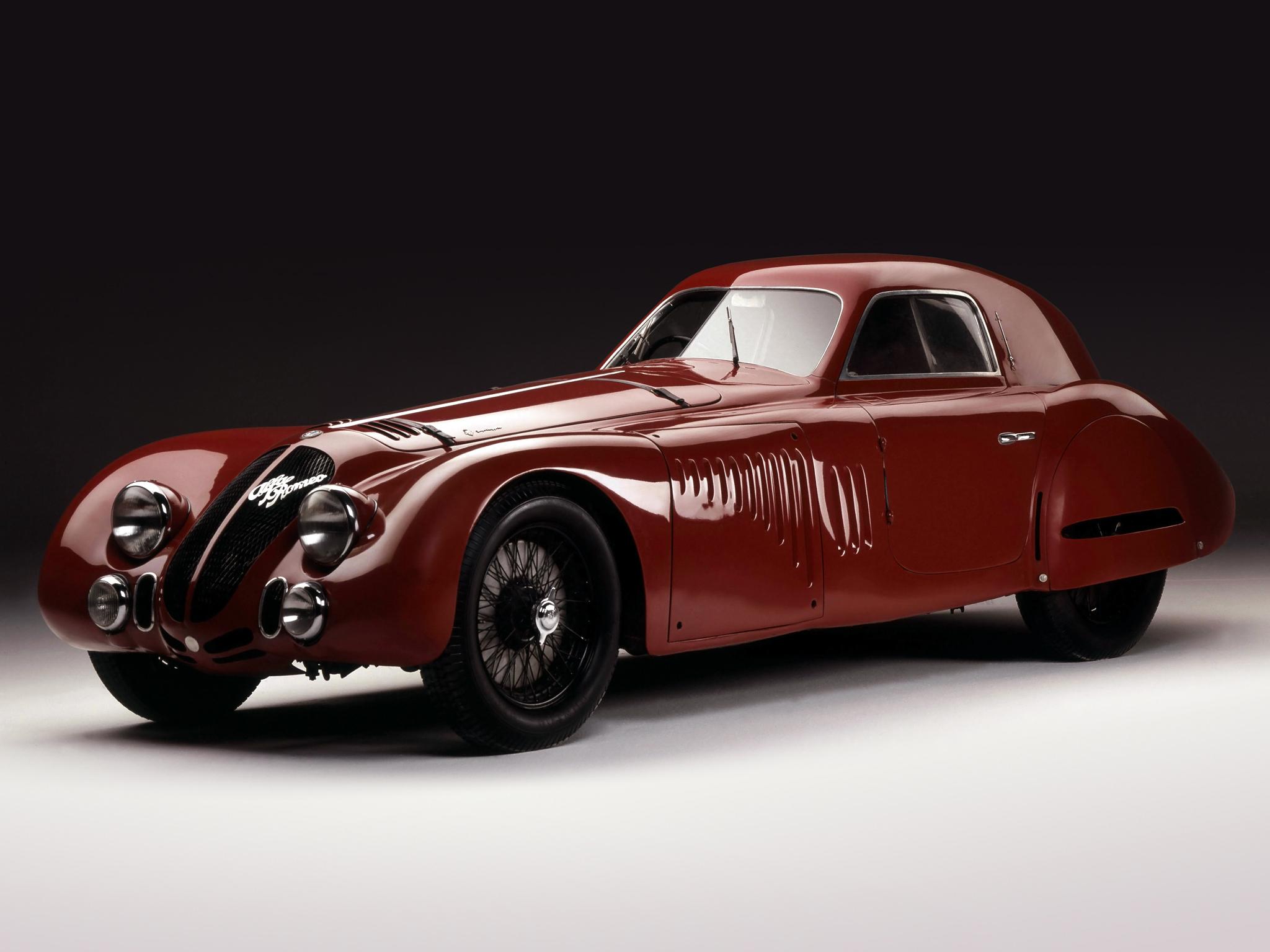 Alfa Romeo 8C 2900 B Le Mans Speciale (Touring), 1938