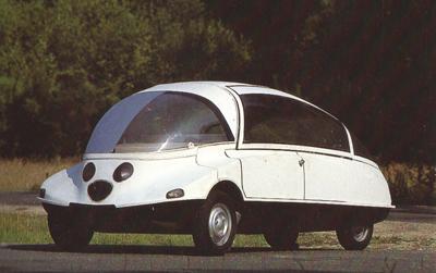 Citroën Coccinelle (Prototype C) Coche Car