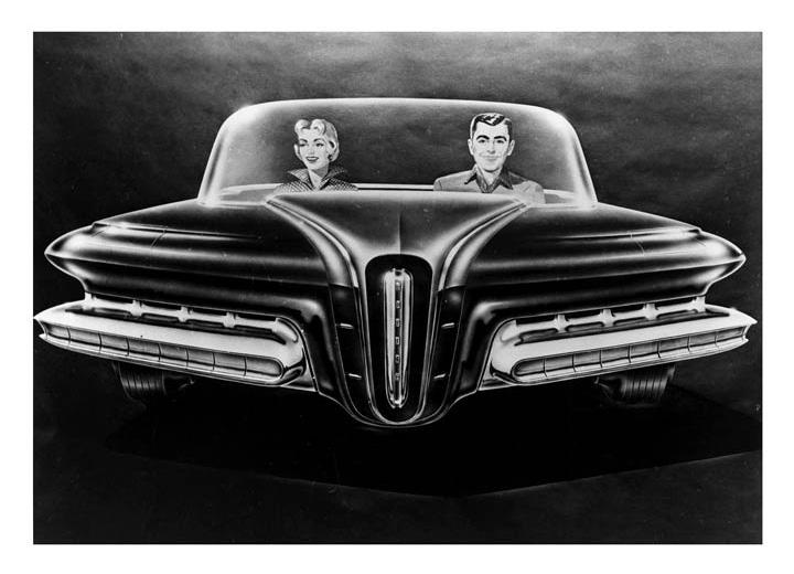 1956 Packard Predictor (Ghia) - Concepts