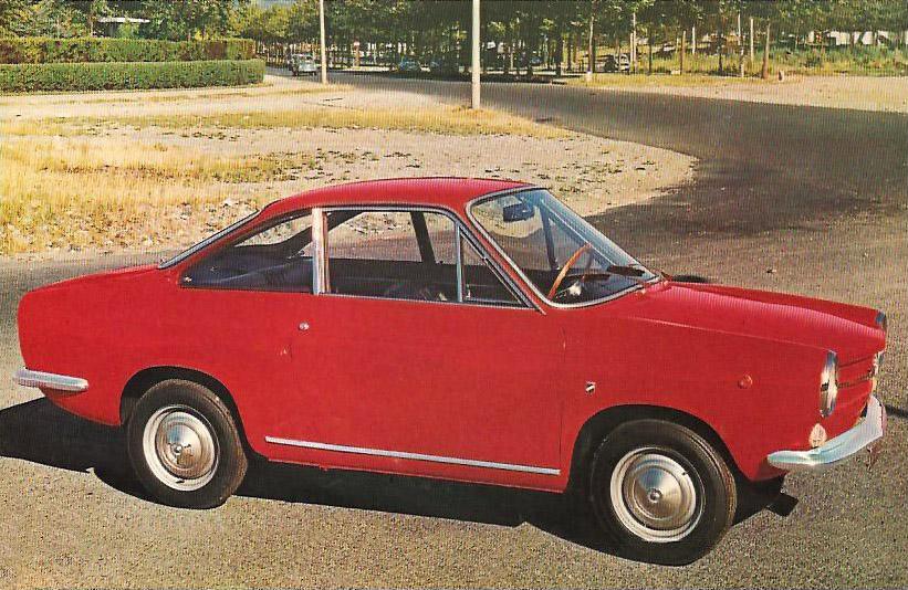 1960 Fiat 500 Coupe (Moretti) - Studios