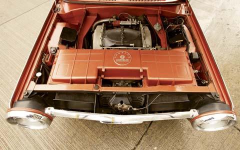 1963 Chrysler Turbine Car Ghia Concepts