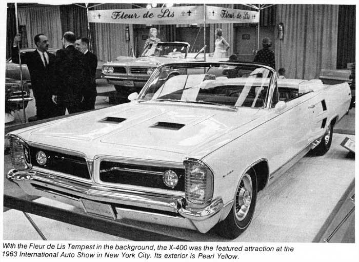 1964 pontiac bonneville x 400 convertible concepts pontiac bonneville x 400 convertible 1963 publicscrutiny Images