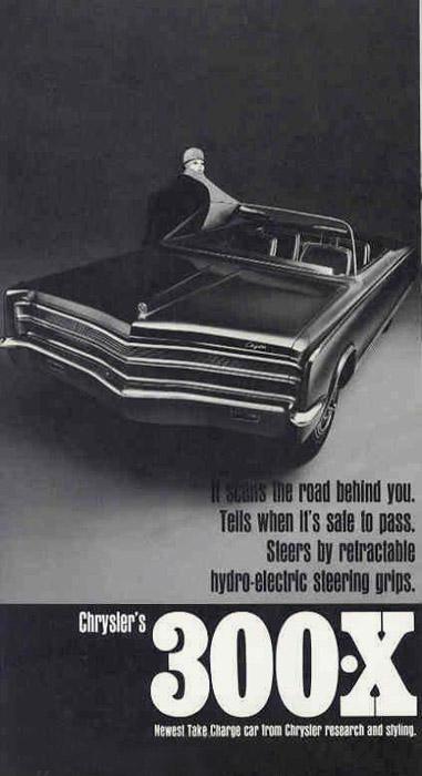 1966 Chrysler 300x Concepts