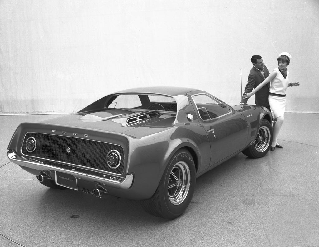 prototype ford mach 2 partir d 39 une mustang 1967. Black Bedroom Furniture Sets. Home Design Ideas