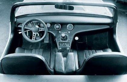 JeeP-история продолжается! Часть 2 - концепты. 1969_Jeep_XJ001_Concept_interior