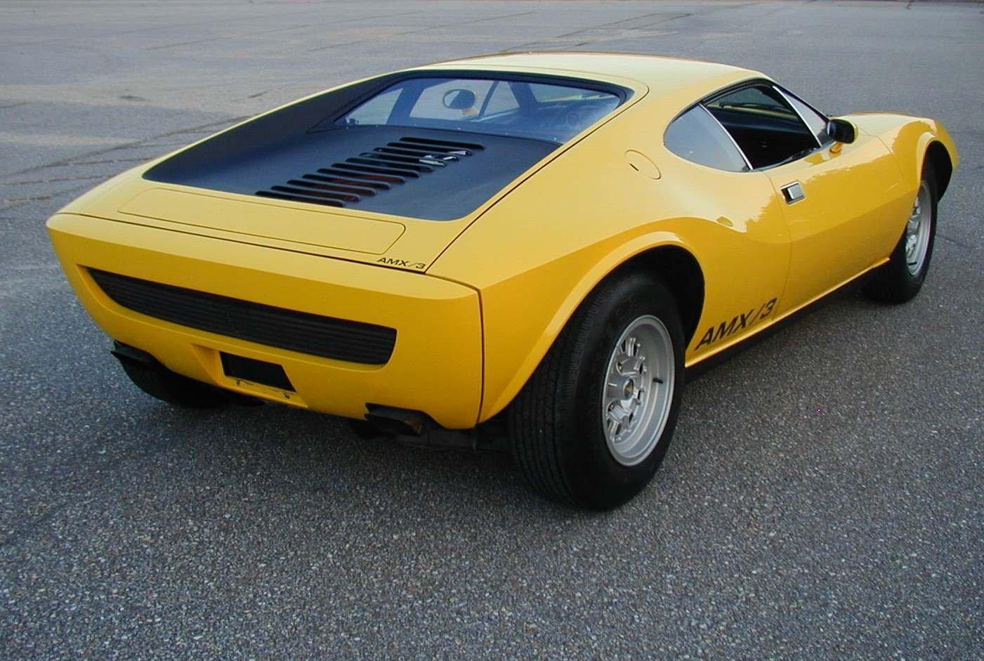 1970 American Motors Amx 3 Vignale Concepts