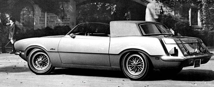 1970 Ford Maverick Estate Coupe Concepts