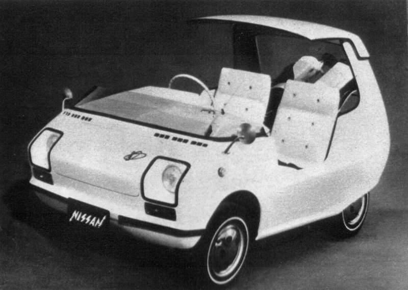 Nissan Electric Car 1971