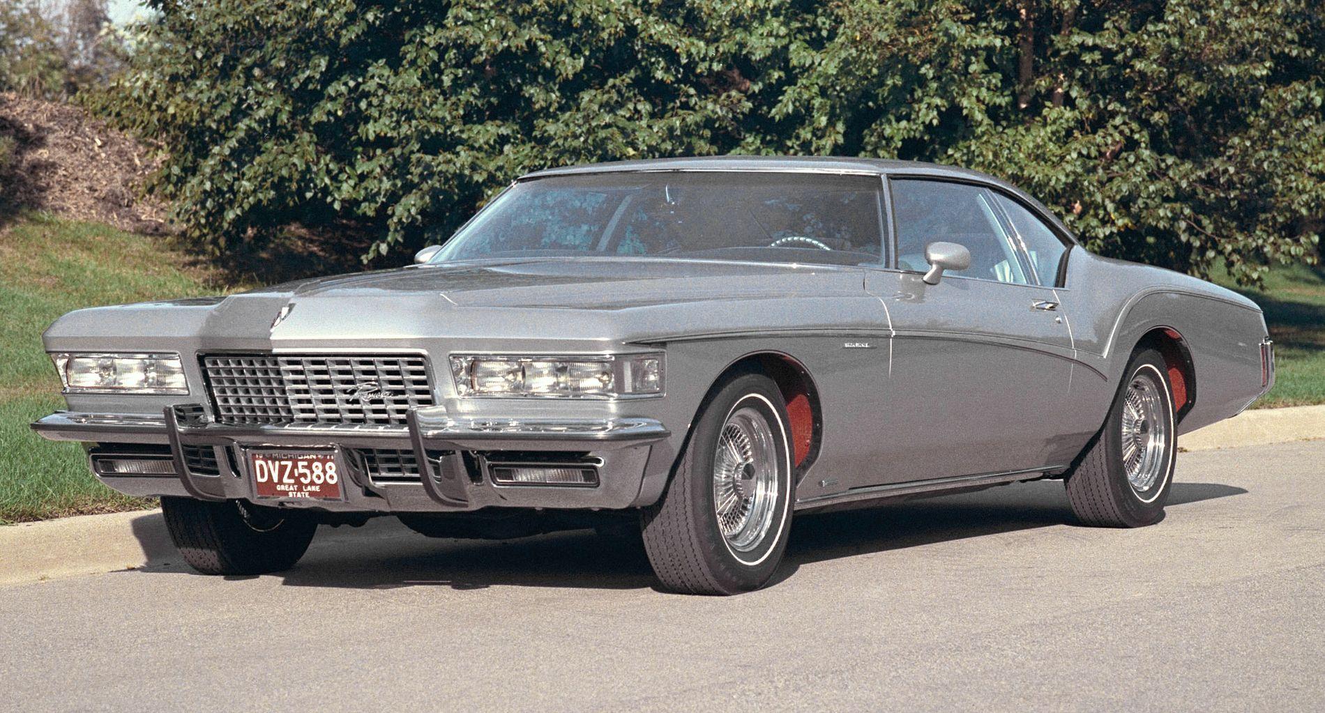 1972 Buick Riviera Silver Arrow Iii Concepts