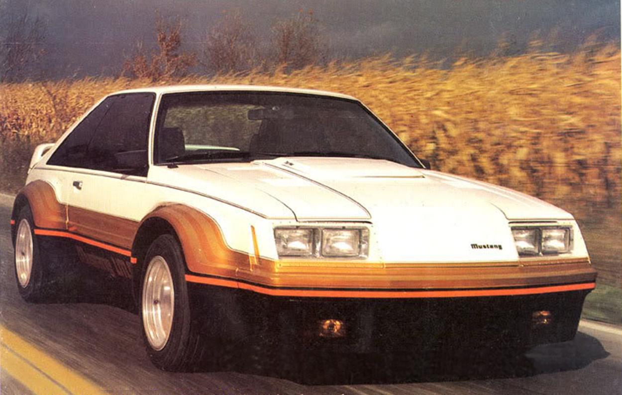 Ford mustang imsa 1979