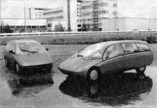 Советский «автомобиль ВАЗ Х-1»,  опередивший свое время