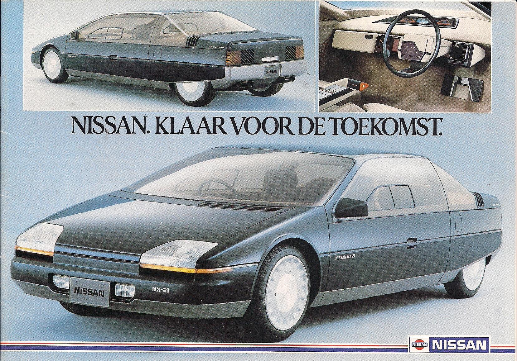 1983 nissan nx 21 concepts nissan nx 21 concept 1983 vanachro Gallery