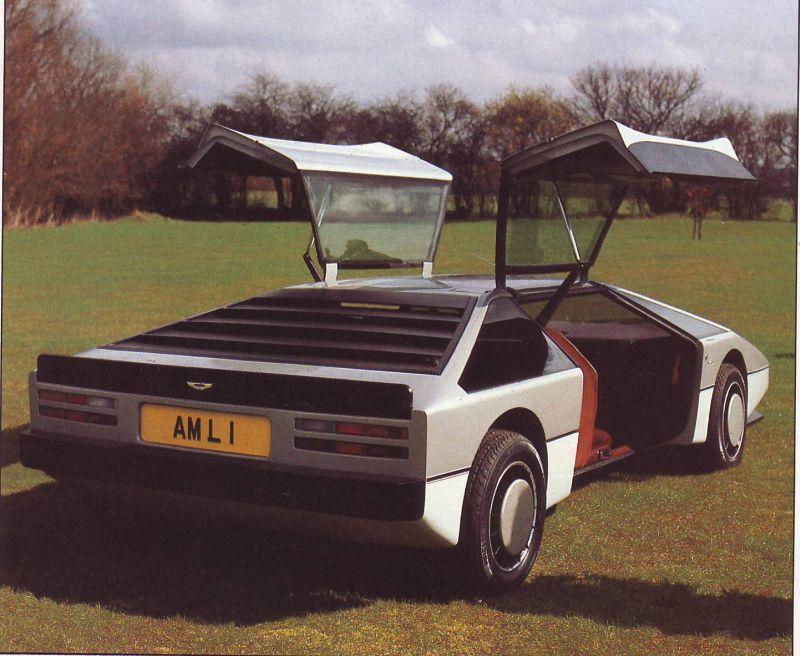 1980 Aston Martin Bulldog - Concepts