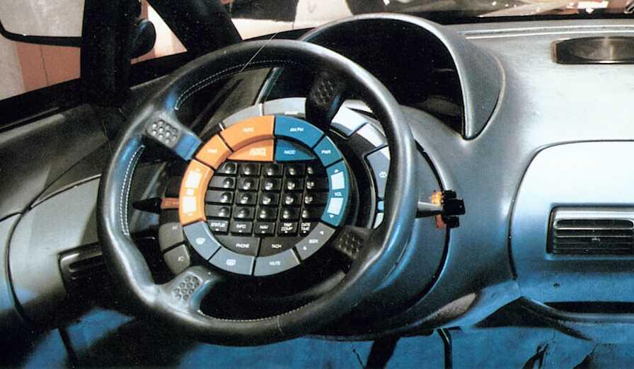 Pontiac Trans Sport Concept Interior