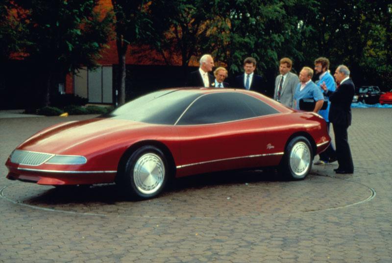 Buick Lucerne 1988 Design Process
