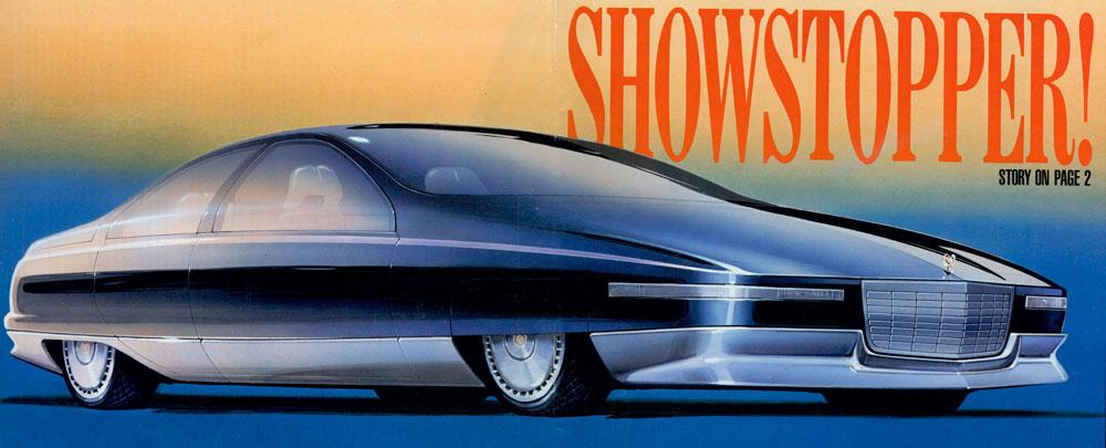Mustang Concept >> 1988 Cadillac Voyage - Concepts
