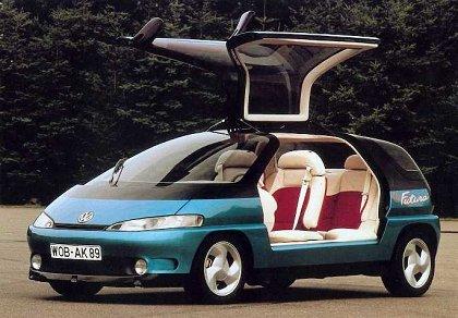 """[Concepts] Les """"vieux"""" concepts ! - Page 17 1989_VW_Futura_03"""