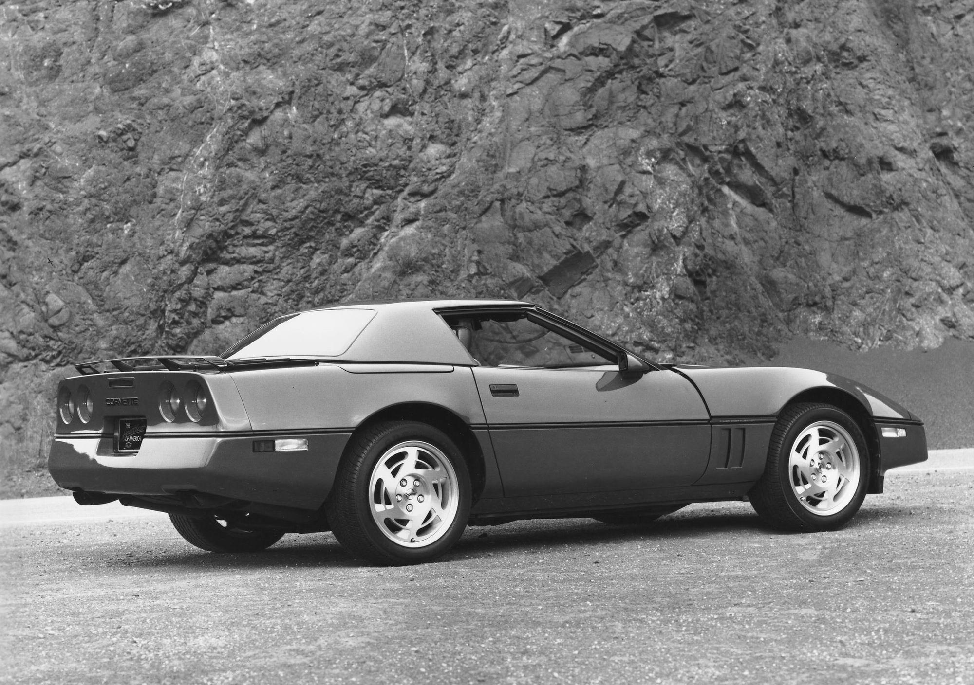 1983 Chevrolet Corvette C4 Meilensteine
