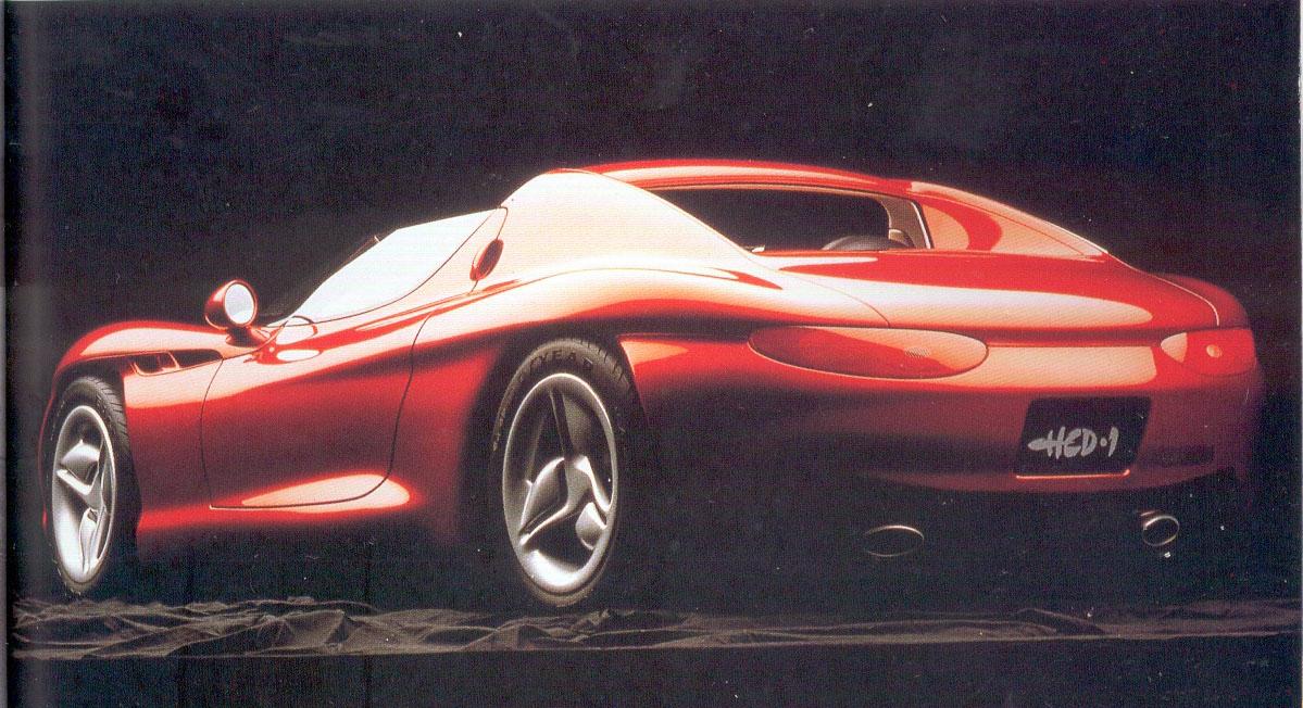 1992 Hyundai Hcd I Concepts