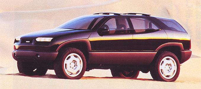 1993 Isuzu XU-1 - u041au043eu043du0446u0435u043fu0442u044b.