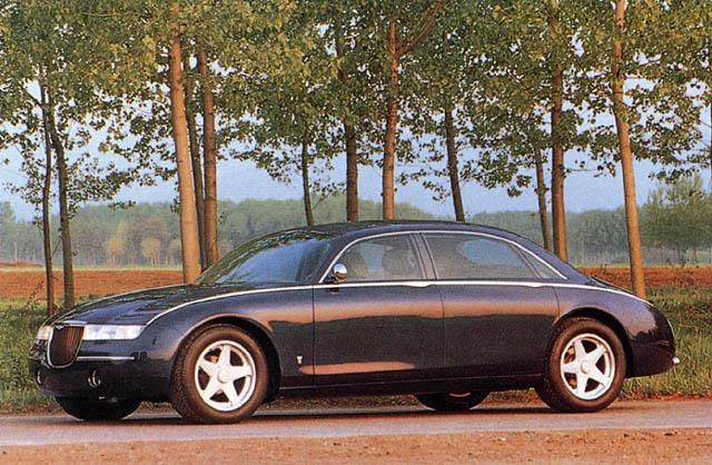 1993 Aston Martin Lagonda Vignale Ghia Concepts