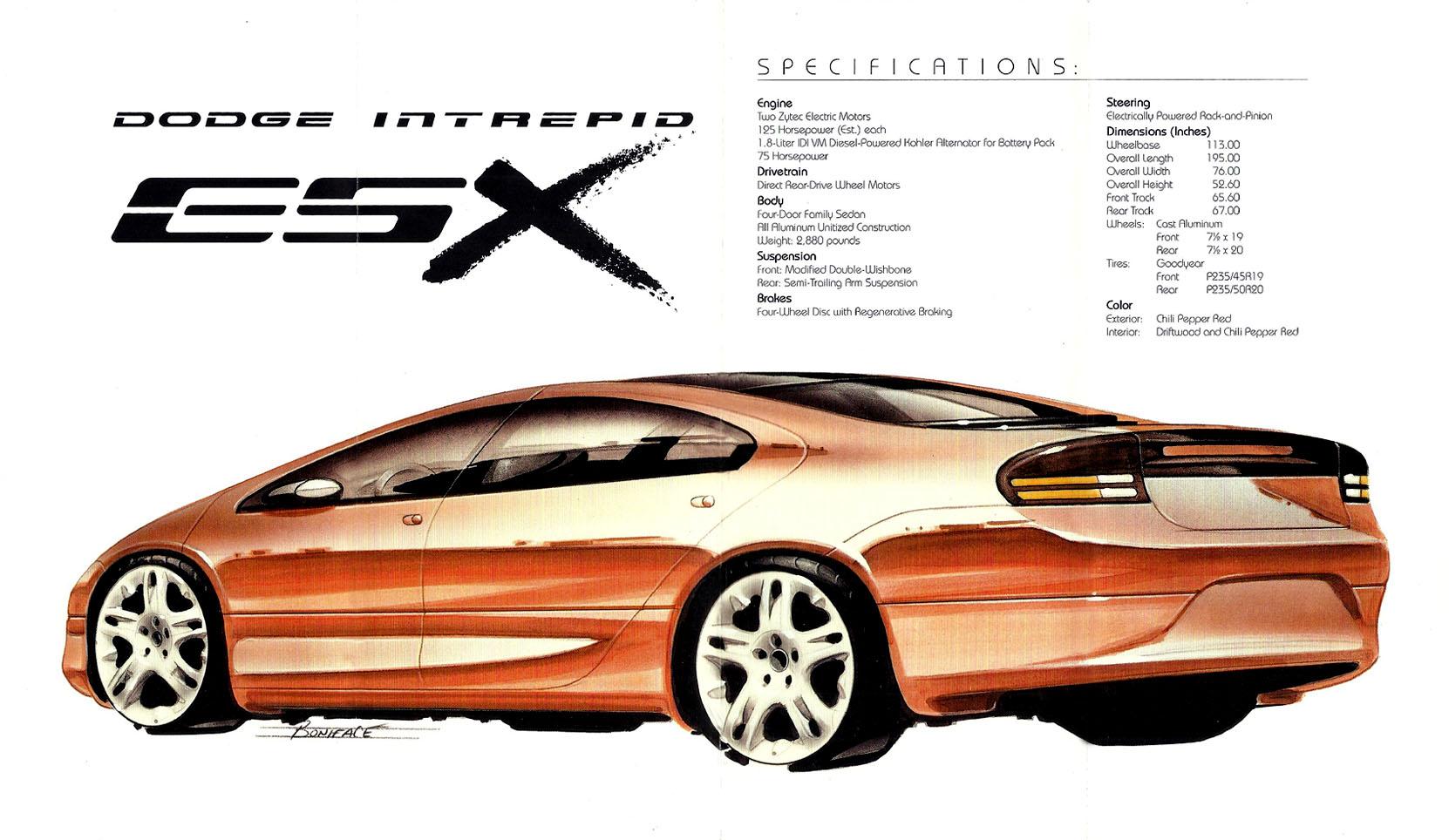1996 Dodge Intrepid ESX - Concepts