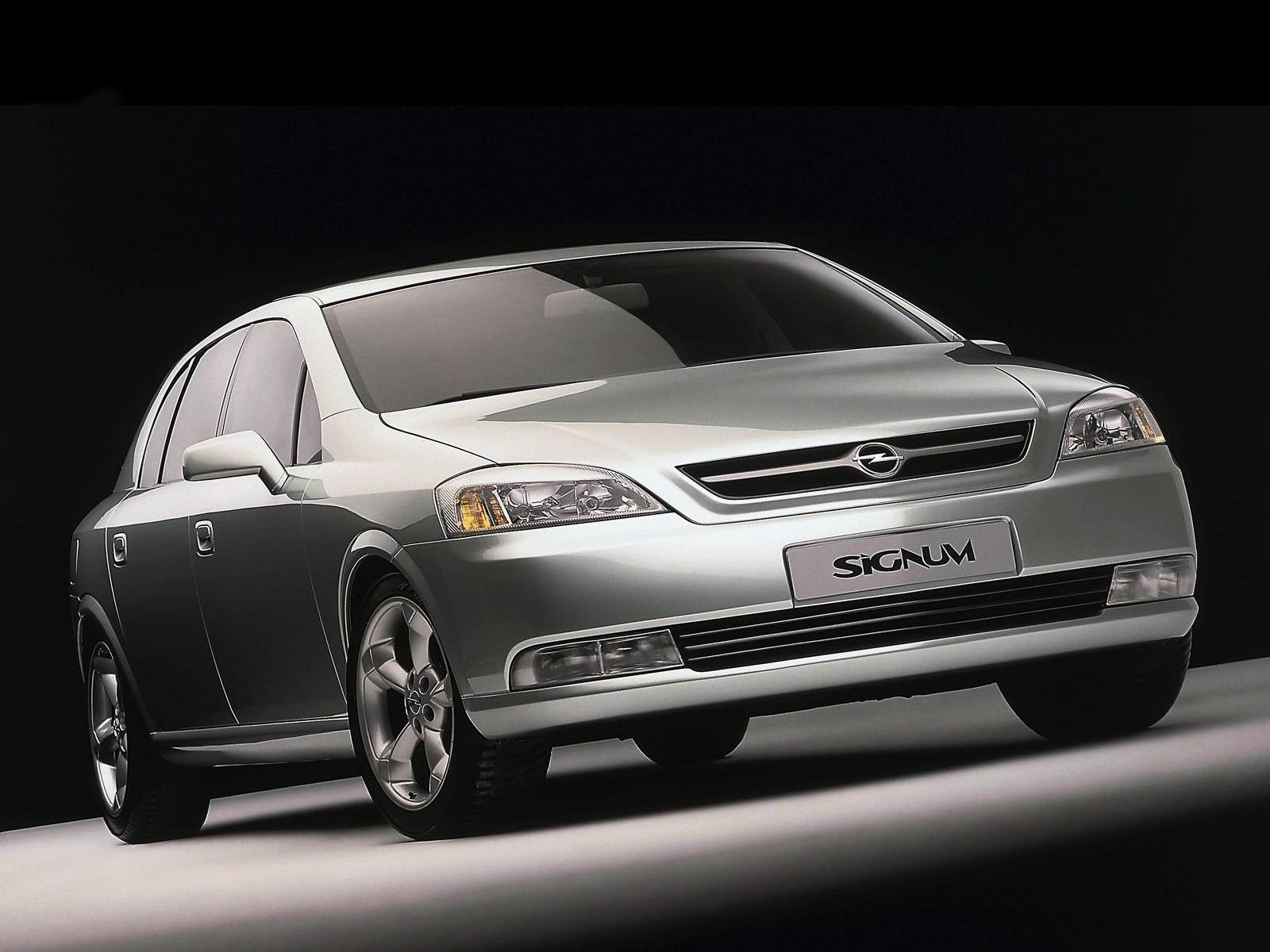 1997 Opel Signum - Concepts