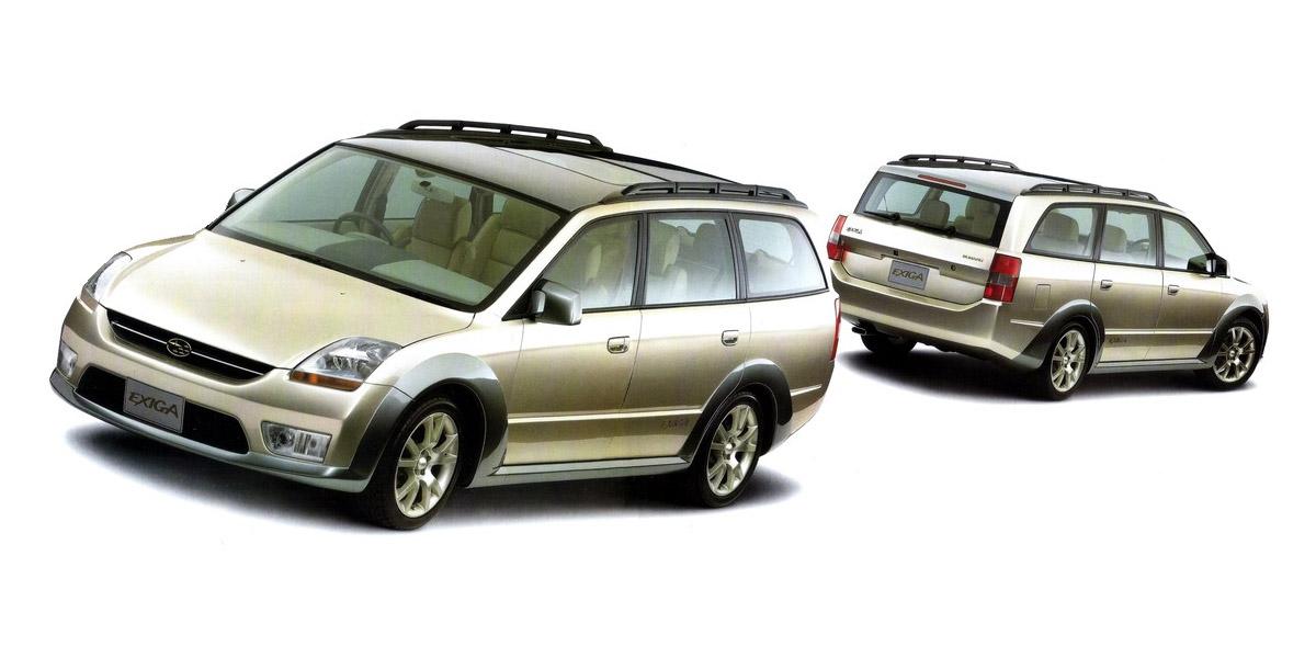 1997 Subaru Exiga Concepts